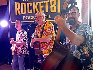 Rock night with the band ROCKET 81