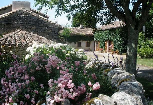 The cottage at Domaine Vayssette