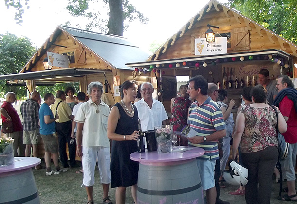 The wine festival in Gaillac
